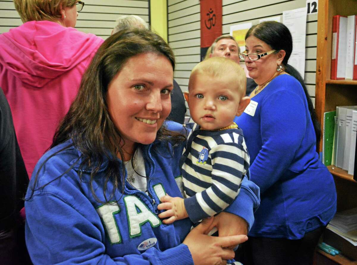 Middletown residents Brittany O'Hara and her 10-month-old son Bryson are hoping to take the top prize in the Gerber Baby competition. Online voting, which can be done once a day, ends Nov. 24.