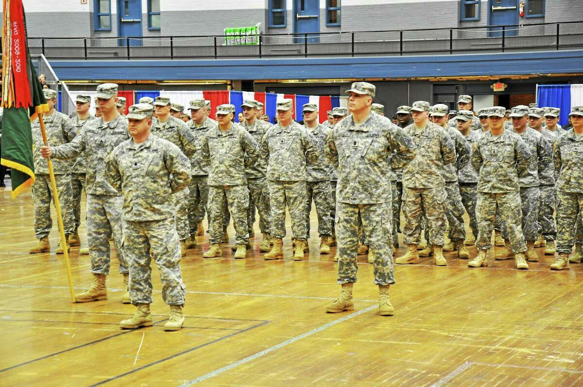 Thirty-five soldiers of the Middletown-based 143rd Regional Support Group will provide command, control and administration to all base life support operations on a post in Afghanistan.