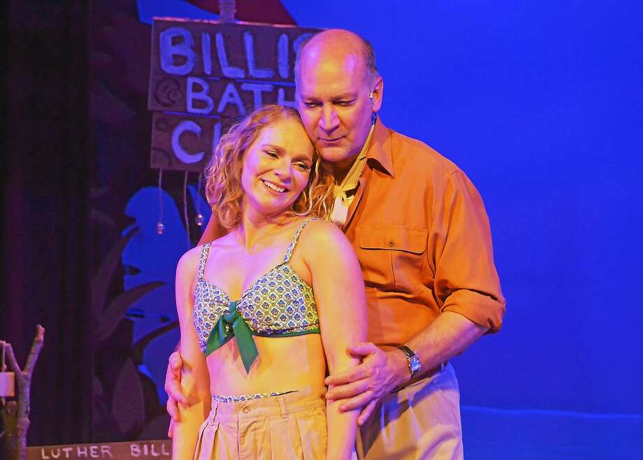"The actors of ""South Pacific"" go above and beyond role by creating real characters. Photo: Journal Register Co. / 29 Blake Street,  Ivoryton CT 06442"