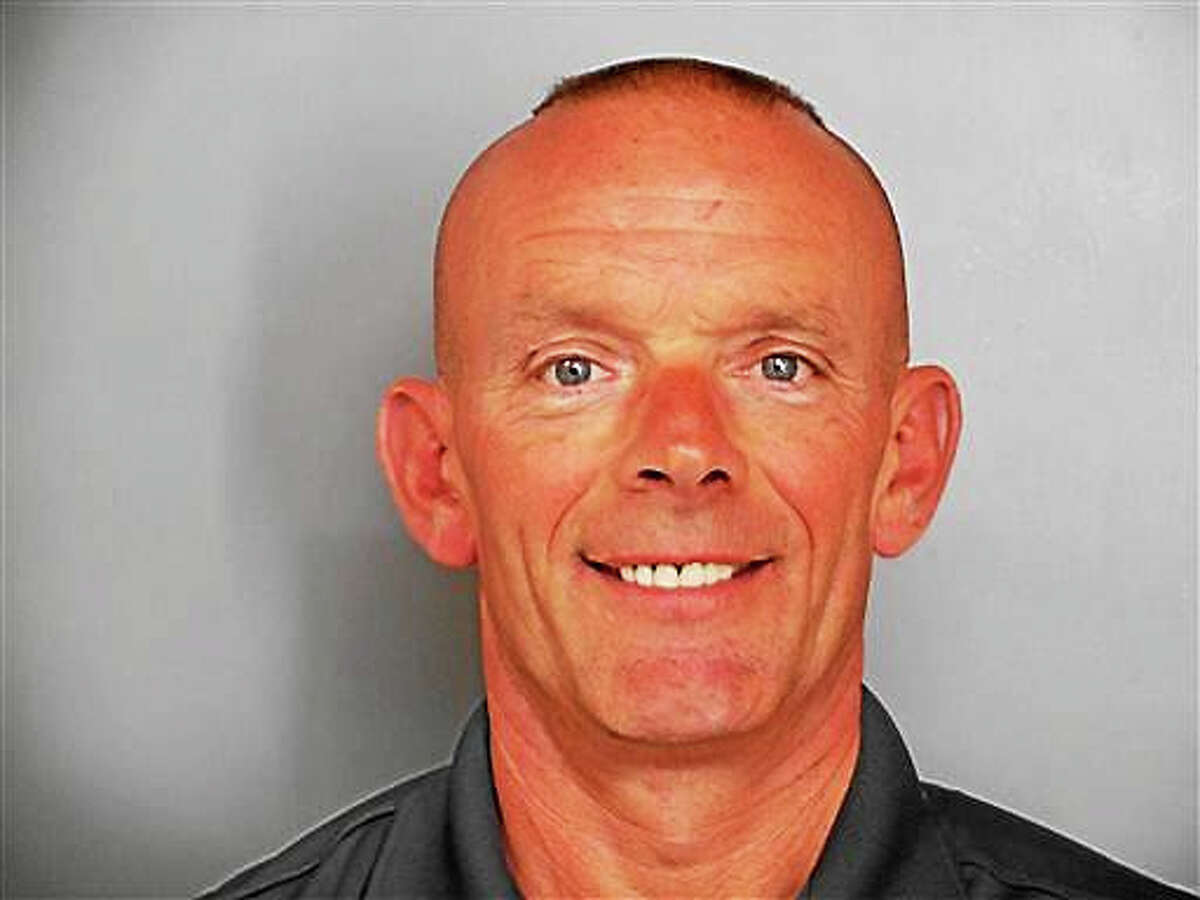 This undated file photo provided by the Fox Lake Police Department shows Lt. Charles Joseph Gliniewicz. Authorities will announce Wednesday, Nov. 4, 2015, that the northern Illinois police officer whose shooting death led to a massive manhunt in September killed himself, an official briefed on the crime investigation says.