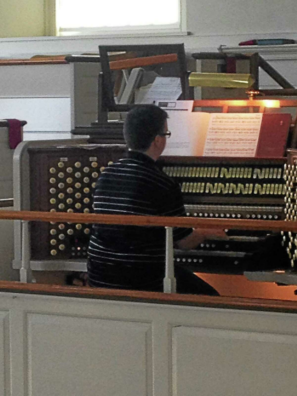 Submitted photo. Benjamin Henderson, 15, of Middletown, will be featured in his first individual organ concert on Friday in Wethersfield.