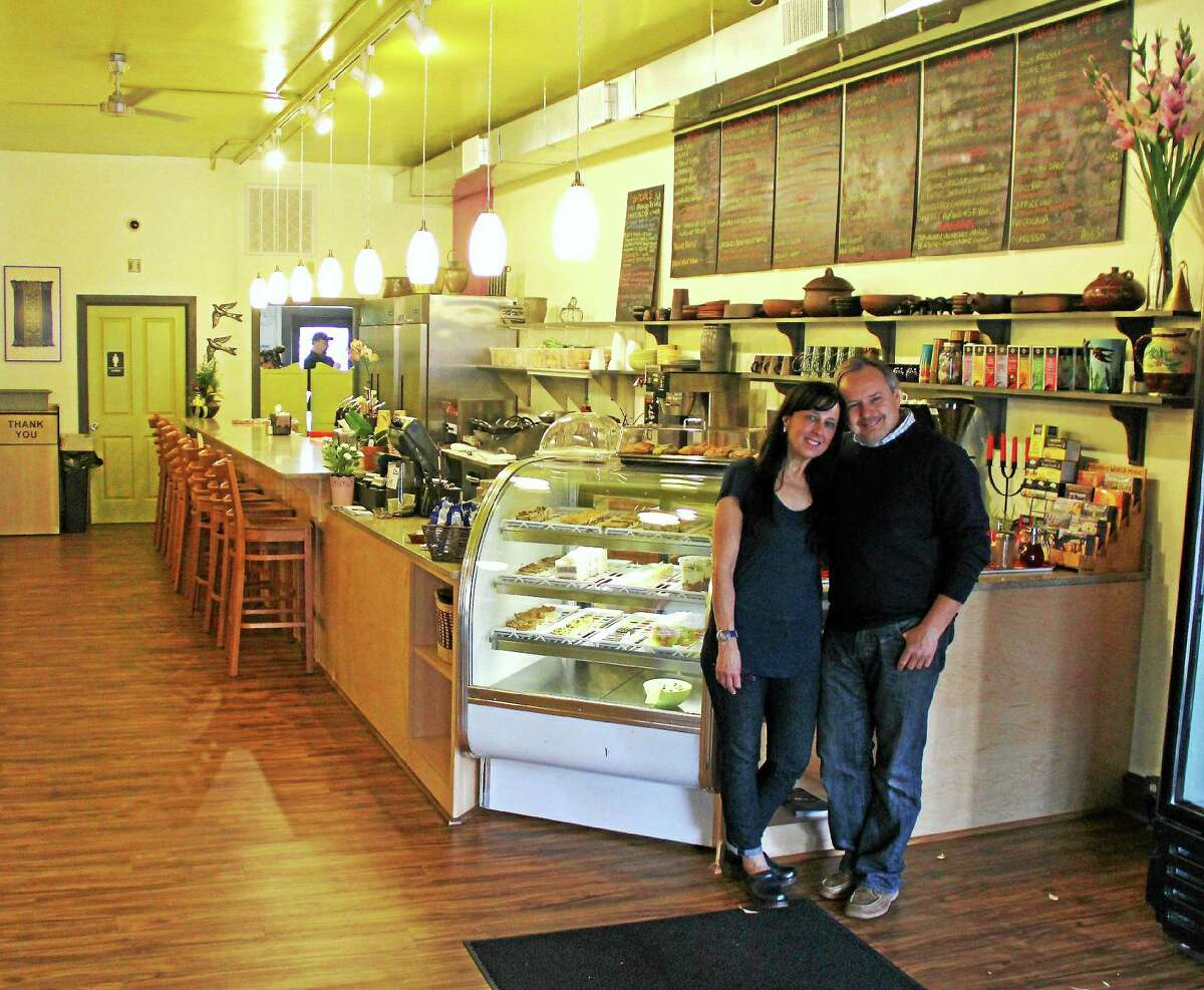 Brew Bakers restaurant owners Josef Aigner and Eloise Tencher opened a second location at 506 Main St. in Middletown last month.
