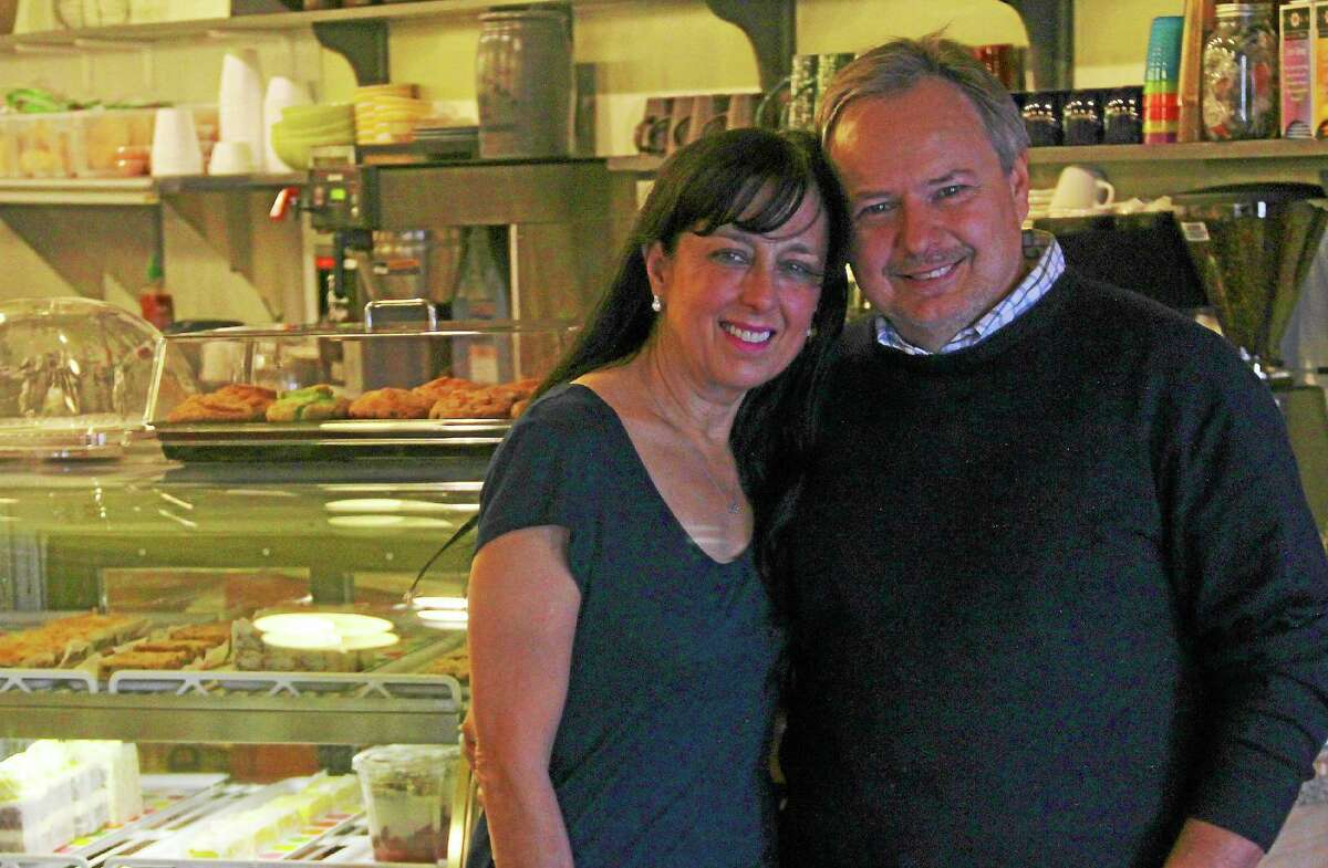 Kathleen Schassler/Middletown Press Brew Bakers restuarant owners Josef Aigner and Eloise Tencher opened a second location at 506 Main St. last month.