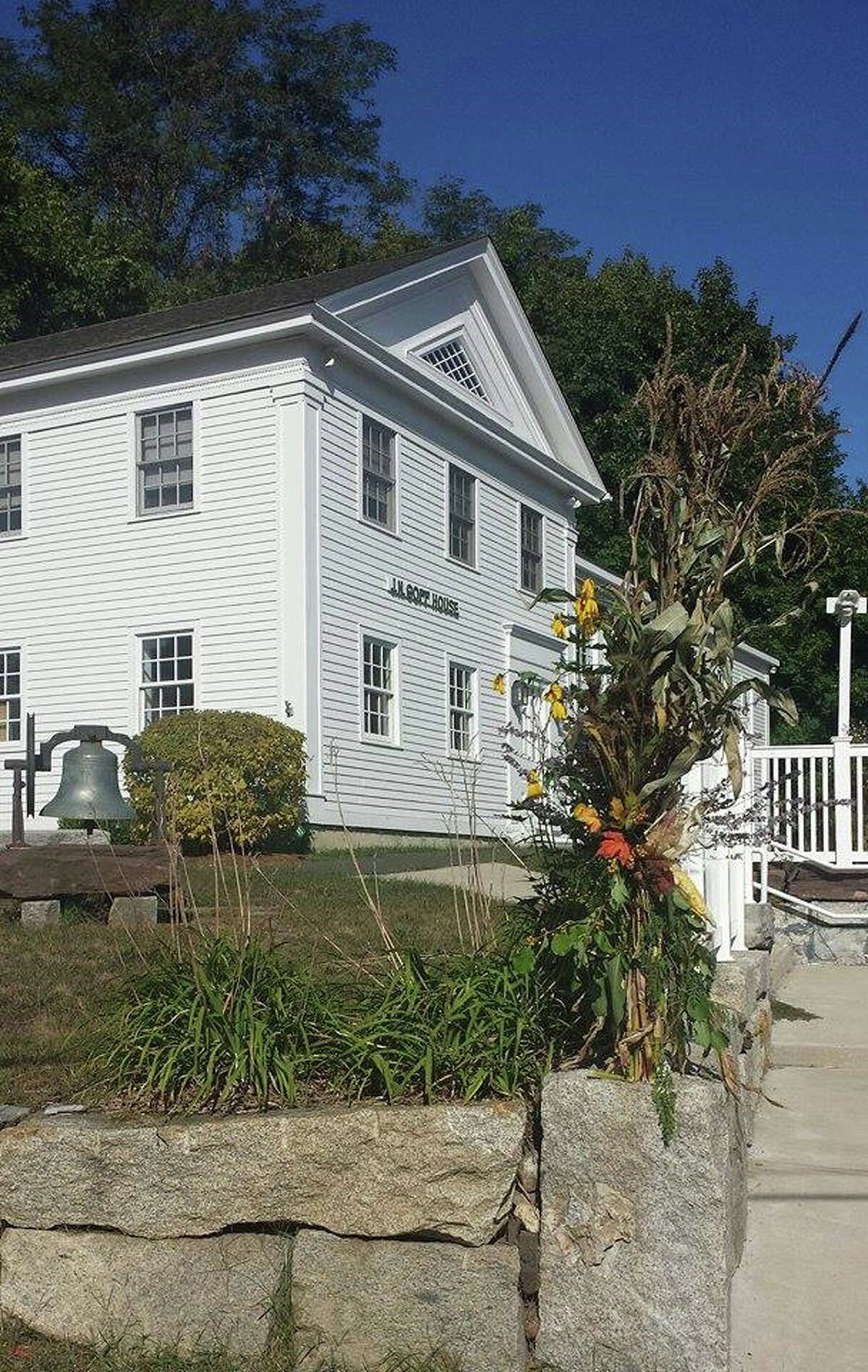 The Goff House will host exhibits by area artists during Sunday's Open Studio event in East Hampton.