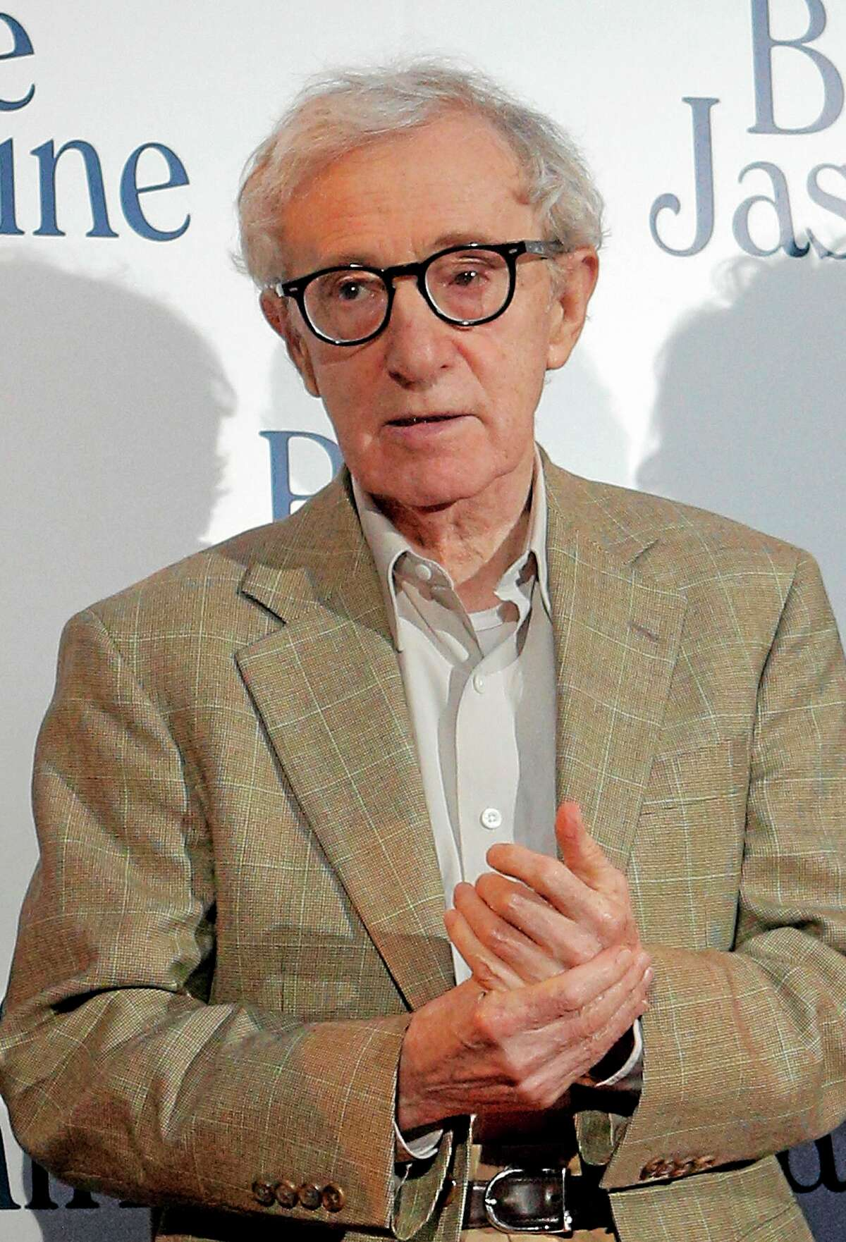 """This Aug. 27, 2013 file photo shows director and actor Woody Allen at the French premiere of """"Blue Jasmine,"""" in Paris. In an Op-Ed piece by Nicholas Kristof published on the New York Times website on Saturday, Feb. 1, 2014, the author referenced a letter by Allenís adopted daughter Dylan Farrow, 28, that he posted on his blog, detailing how she was molested by Allen while growing up. AP Photo/Christophe Ena"""