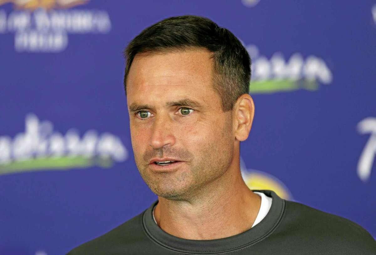 Former Minnesota punter Chris Kluwe says special teams coordinator Mike Priefer, pictured, made anti-gay comments while Kluwe was with the Vikings.