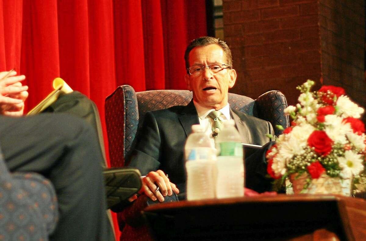 Hugh McQuaid - CTNewsJunkie.com Gov. Dannel P. Malloy