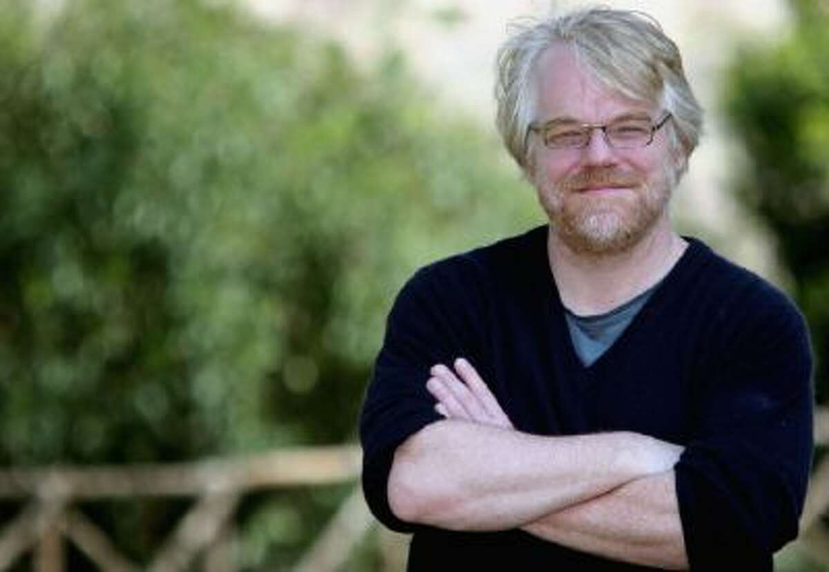 Actor Philip Seymour Hoffman in Rome, Italy. on April 24, 2006.