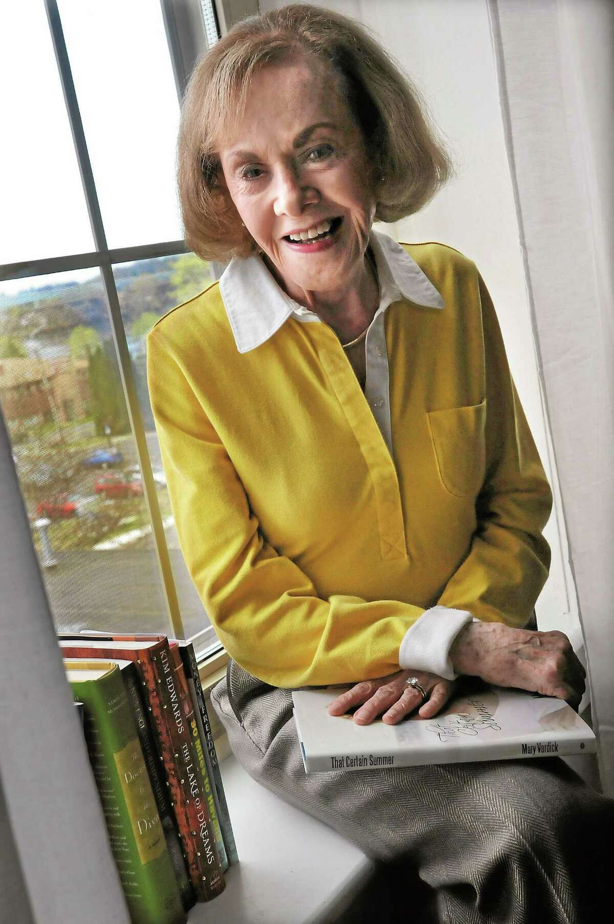 Author Mary Verdick is seen in this April 2011 file photo.