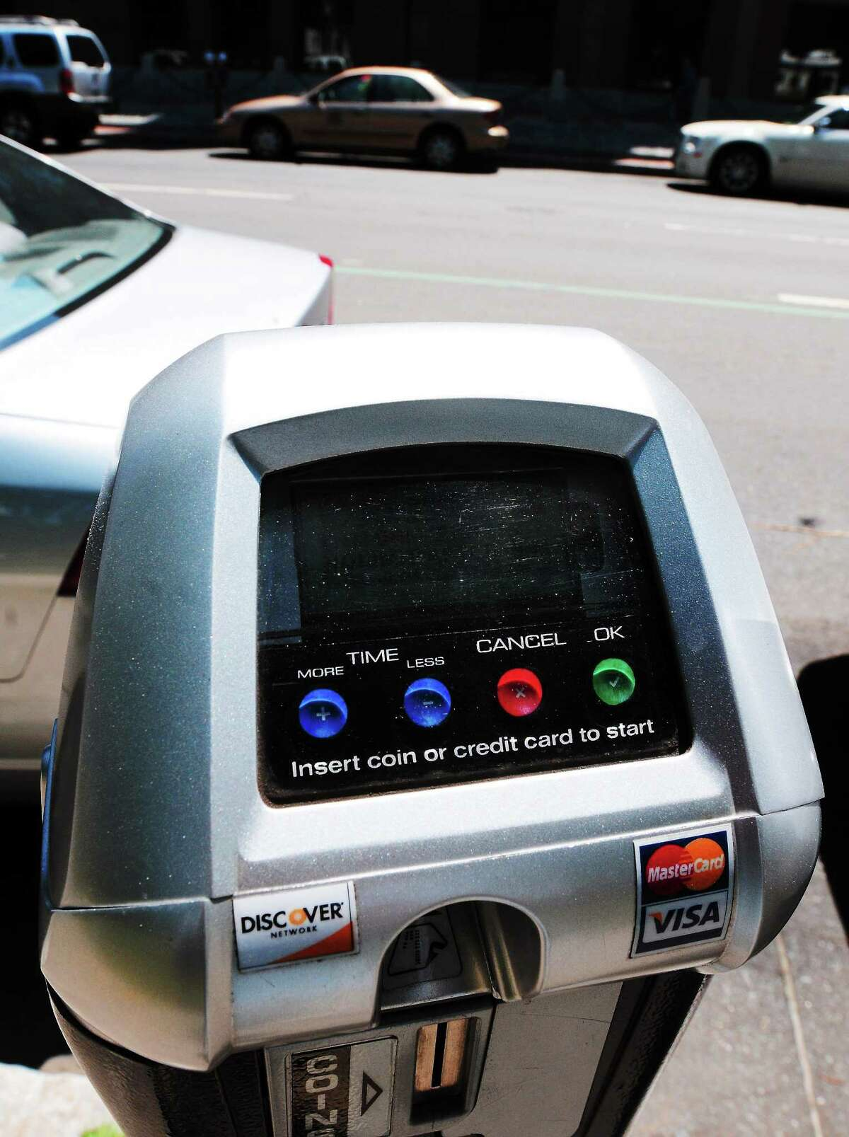 Peter Hvizdak - Register Parking Meter, Church Street. Thursday July 18, 2013