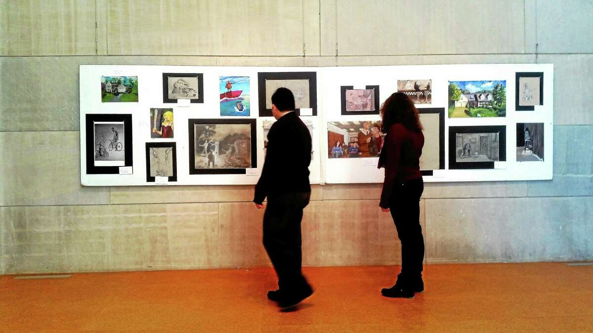 The Middletown Public Schools' K-12 art exhibit will run from March 7-15 at the Zilkha Gallery, Wesleyan University.