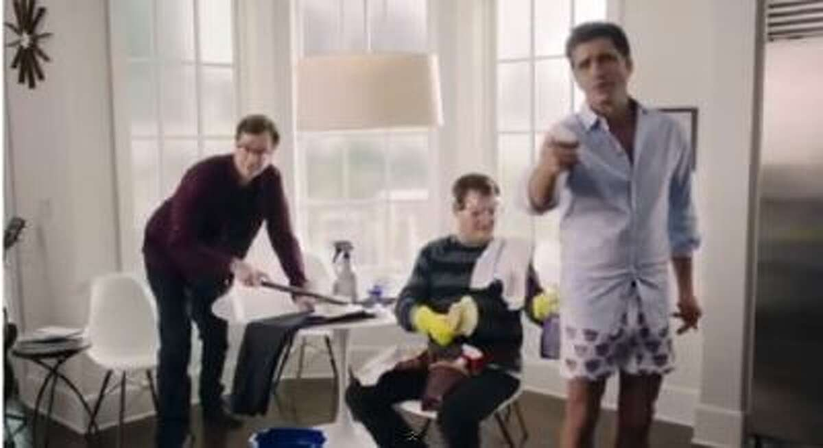 """A """"Full House"""" themed ad for Dannon Yogurt during the Super Bowl."""