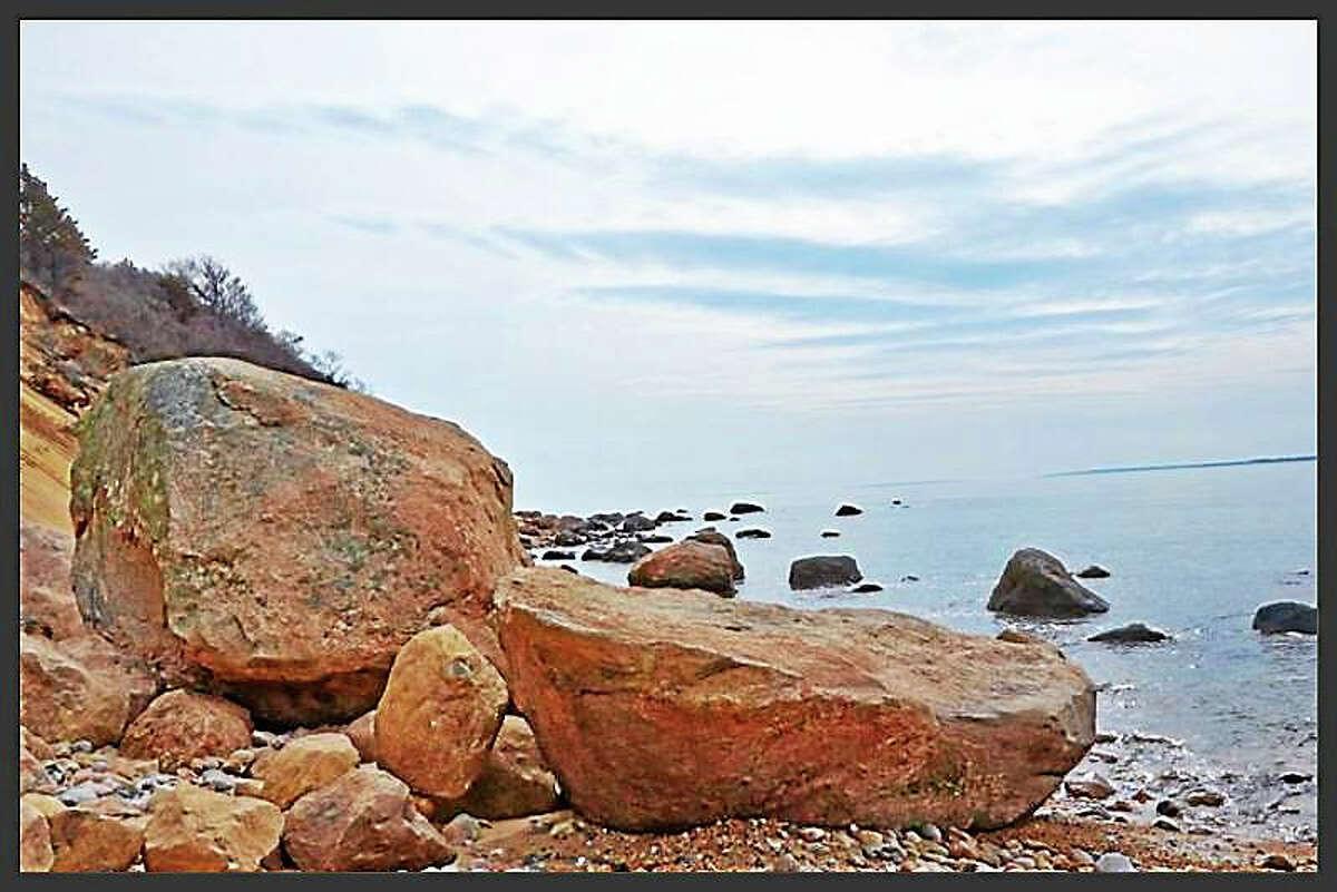 Plum Island, Northeast View by Robert Lorenz.