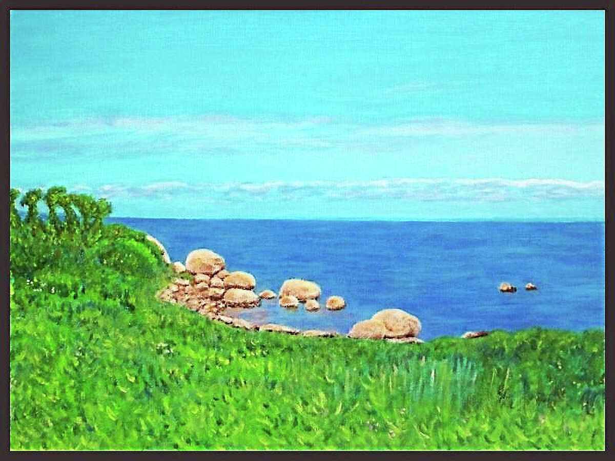 Plum Island, Northeast View by John Sargent.