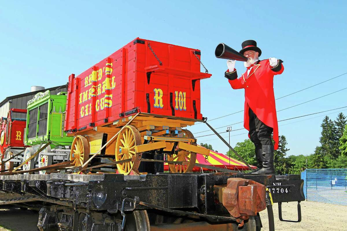 The Circus Train will be at the Essex Steam Train and Riverboat July 19, 20, 26 and 27, offering games, food and entertainment for kids and families.