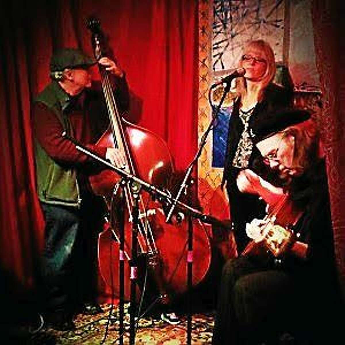 Submitted photo The Ebin Rose Trio will perform at the Buttonwood Performing Arts Center in Middletown.