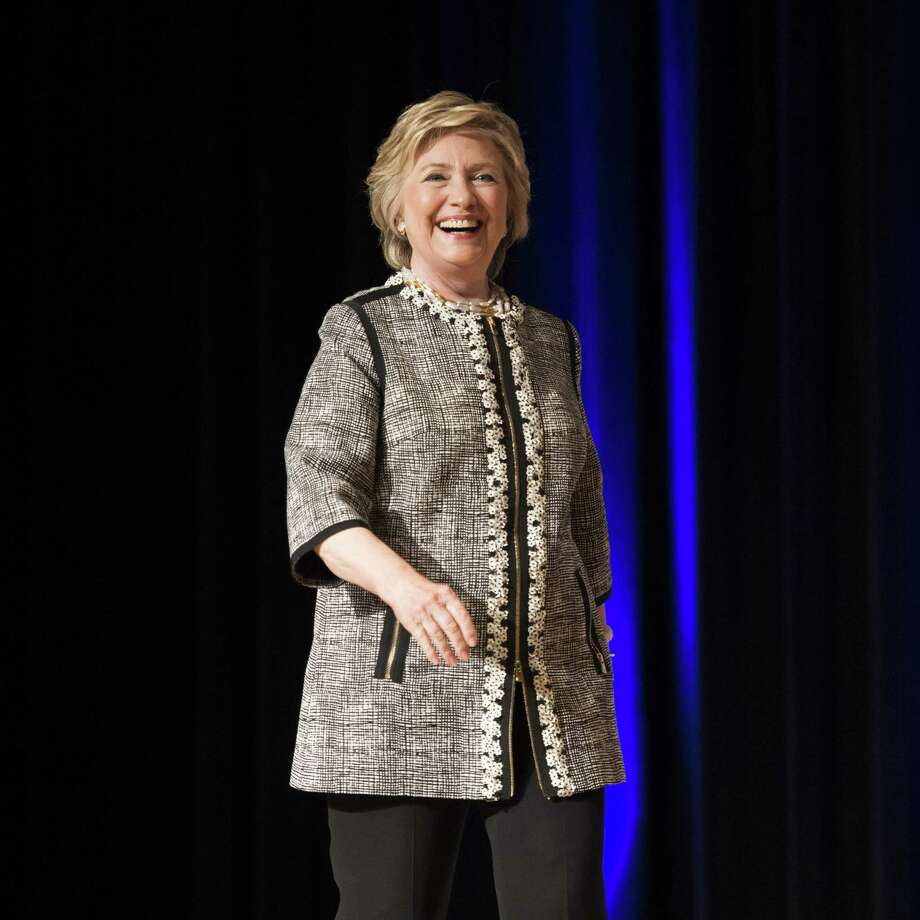 Hillary Clinton at the Book Expo at the Javits Convention Center in New York City on June 1, 2017. Clinton has expressed interest in becoming a preacher. (Michael Brochstein/Zuma Press/TNS) ) Photo: Michael Brochstein, MBR / Zuma Press