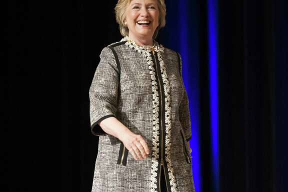 Hillary Clinton at the Book Expo at the Javits Convention Center in New York City on June 1, 2017. Clinton has expressed interest in becoming a preacher. (Michael Brochstein/Zuma Press/TNS) )