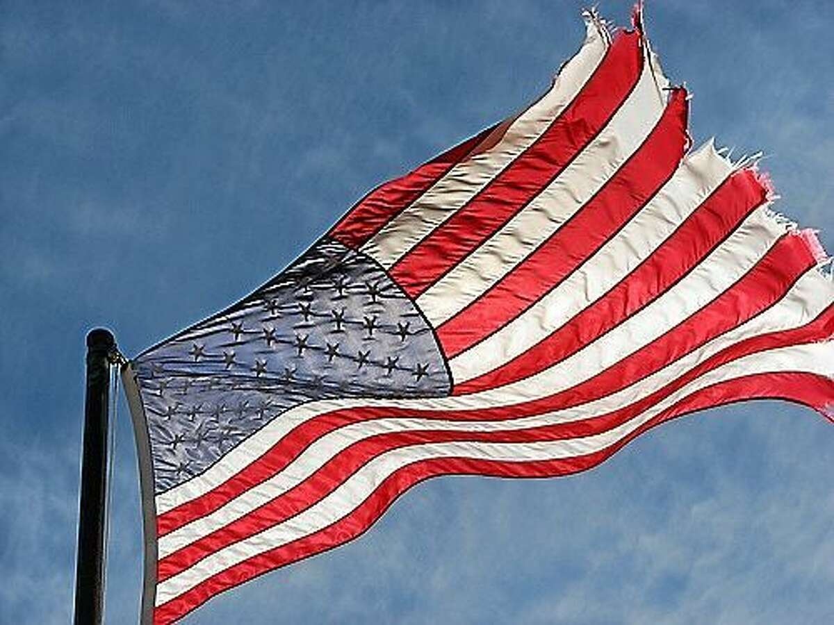 Northampton Township is collecting worn and tattered American flags in the days leading up to Flag Day. They will be disposed of with dignity and respect during a public ceremony at the Northampton Township Community Park's amphitheater on Flag Day.