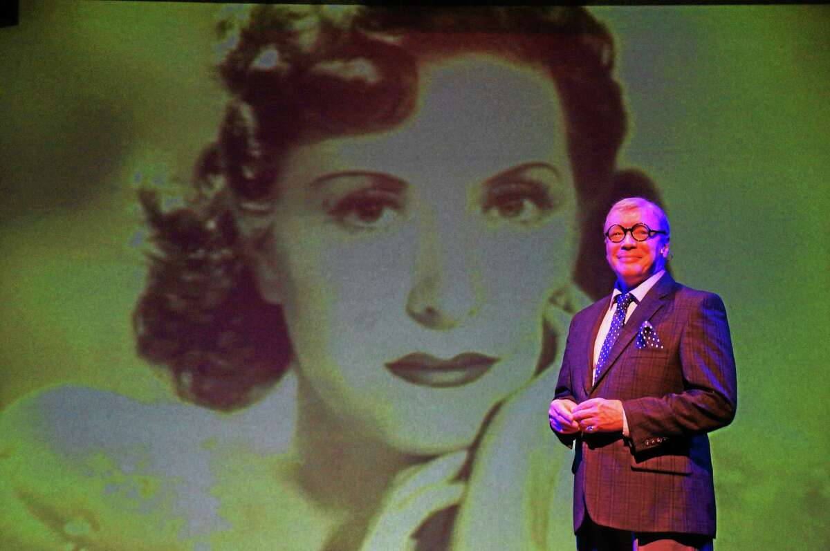 """Photographer: Rose Picarelli Bruce Connelly is George Burns in """"Say Goodnight, Gracie"""" at the Ivoryton Playhouse."""