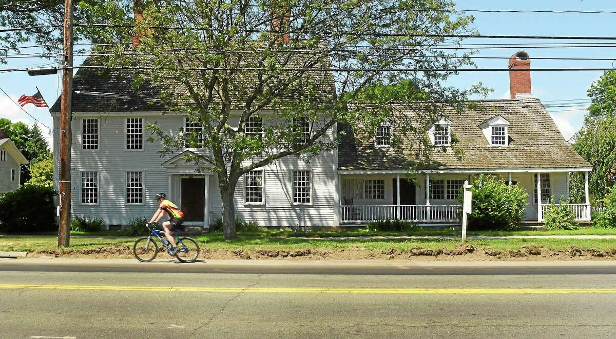 The historic Stanton House at 63 East main Street in Clinton, Friday July 11, 2014