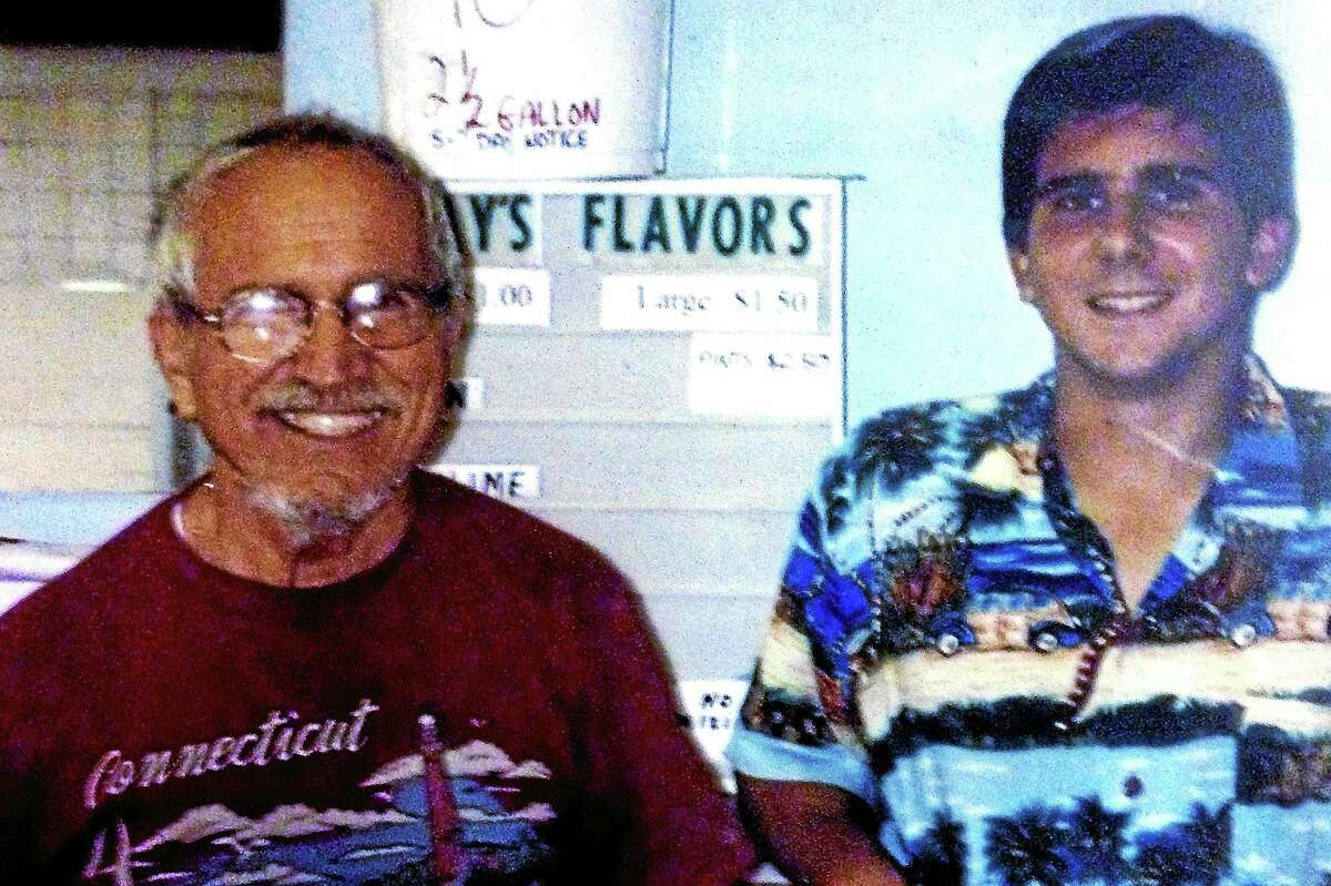 Chris Vecchitto is all smiles with his grandson in this family photograph from years past.