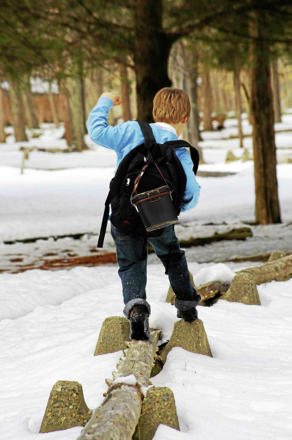 Deer Lake in Killingworth offers winter camping and cold weather survival skills.