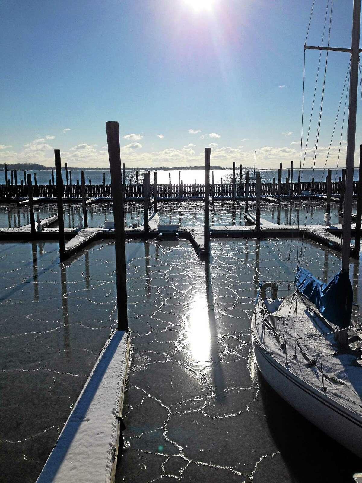 New Haven Harbor, City Point