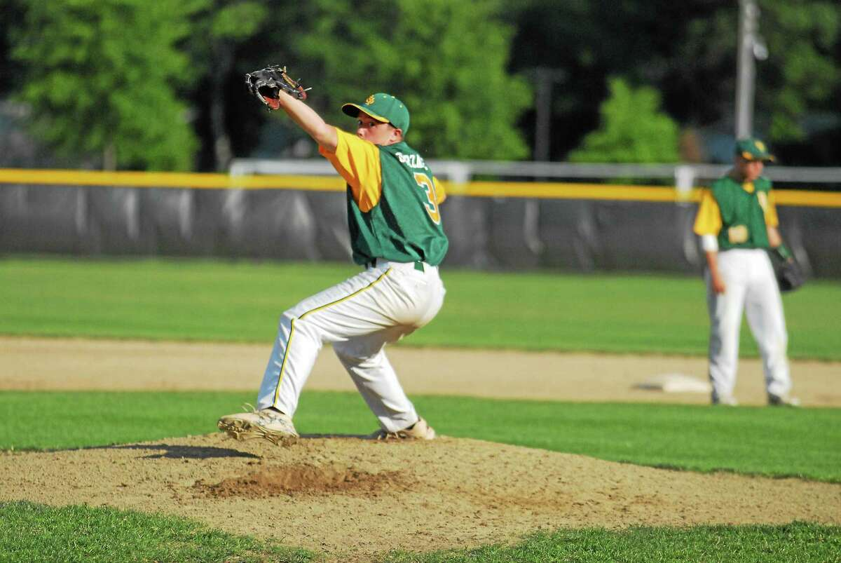 RCP pitcher Cole Ogorzalek scattered five hits in an 8-1 victory over West Hartford Friday at Monnes Field.