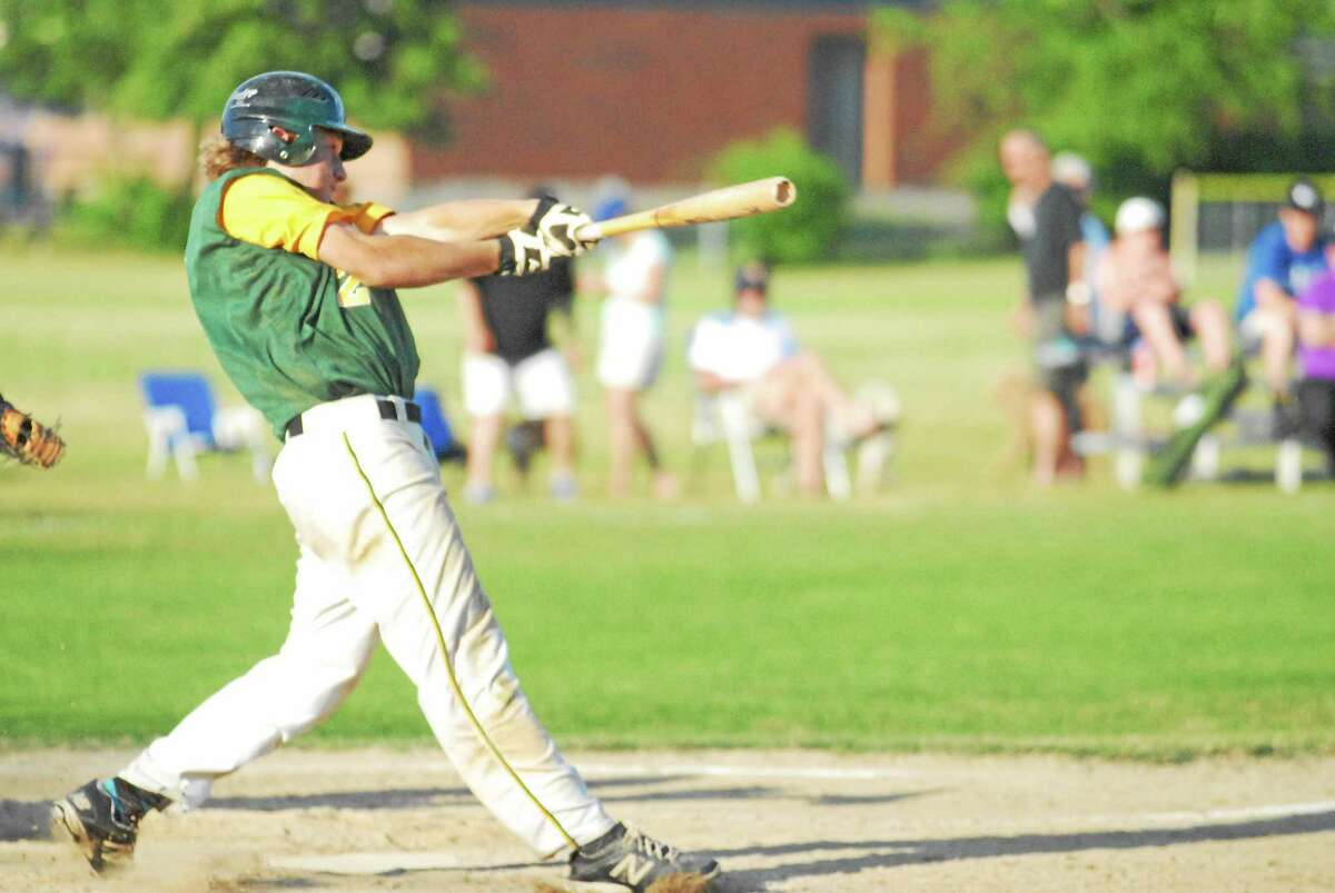 RCP's Cory Baldwin went 4-for-4 with two RBIs against West Hartford on Friday.