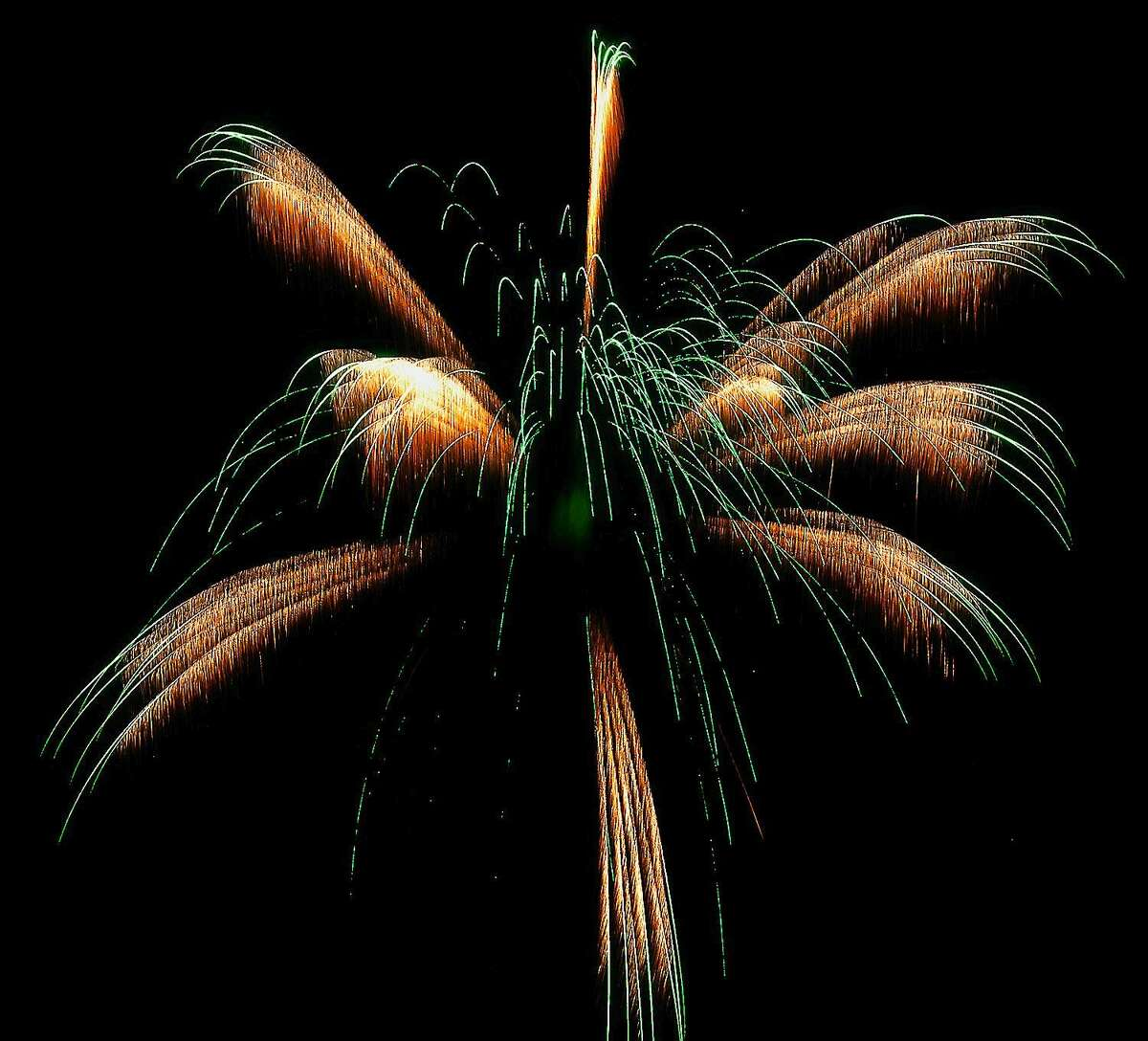 Fireworks will be launched Saturday night in Portland at the Exchange Fairgrounds.