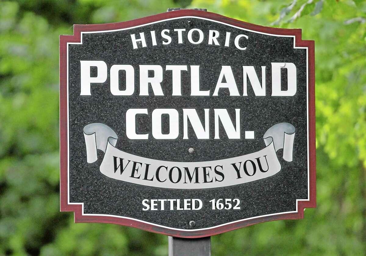 Portland sign.