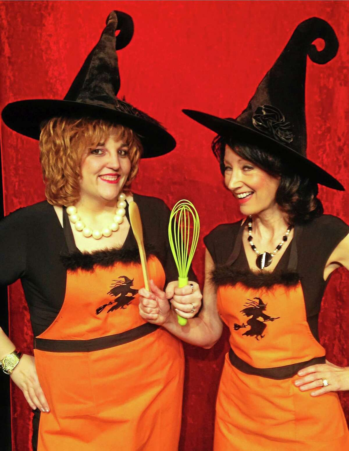 """Contributed photo """"The Kitchen Witches opens March 6 at the Connecticut Cabaret Theatre in Berlin.The comedy tells the story of two ìmatureî rival cable-access cooking show hostesses Isobel Lomax and Dolly Biddle who have hated each other for 30 years, ever since Larry Biddle dated one and married the other."""