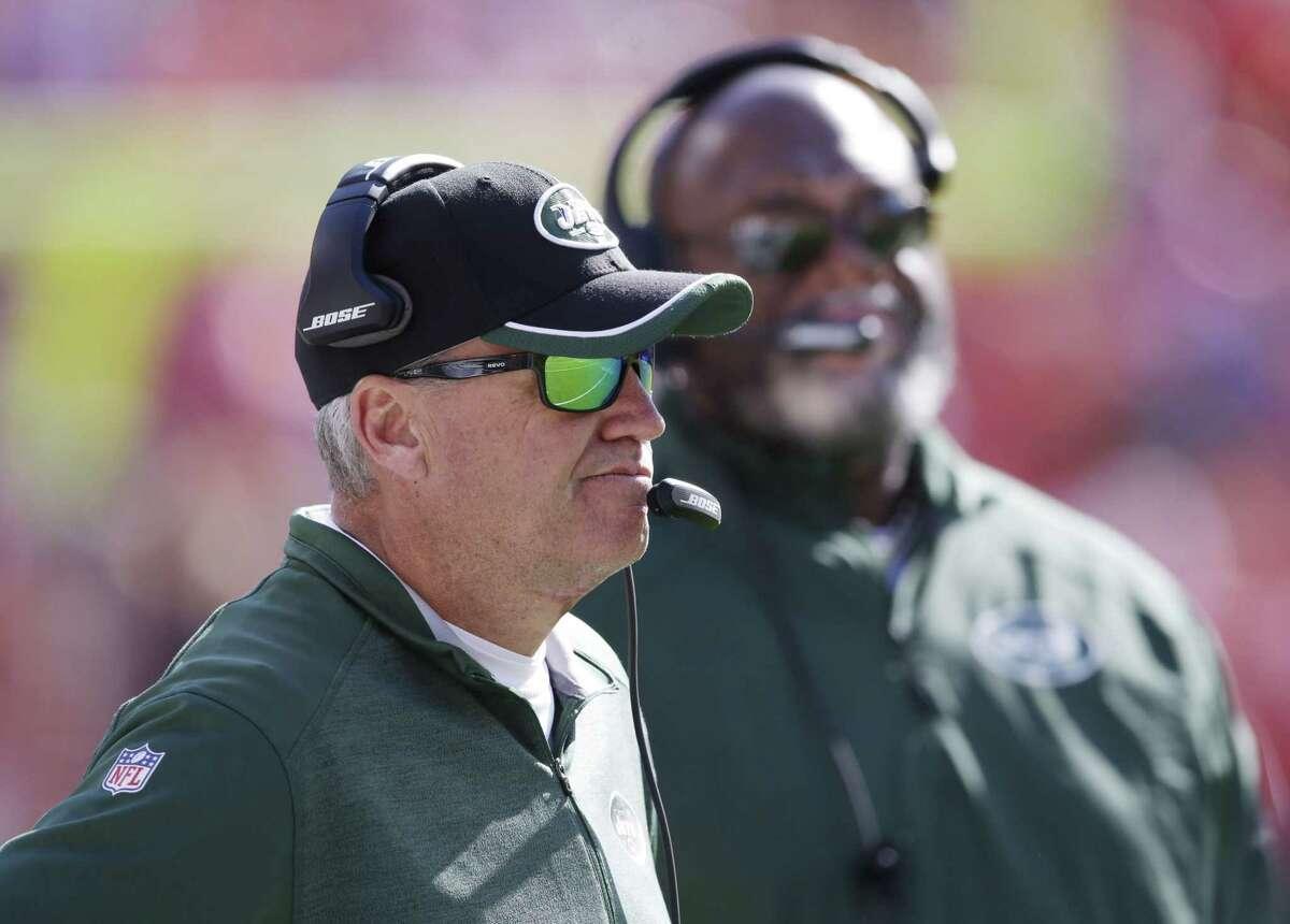 New York Jets head coach Rex Ryan.