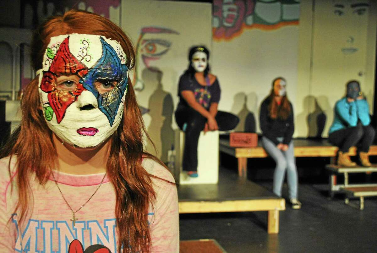 """Contributed photos - Epoch Arts """"Pieces of Us,"""" an original play written by the Breaking Silences girls group at Epoch Arts in East Hampton, will be presented March 13-14 at the arts center on Skinner Street."""