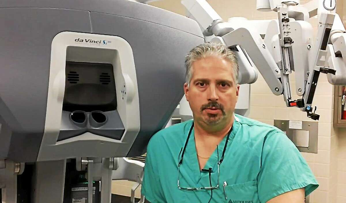 Dr. Mark D'Agostino of Middlesex Hospital in Middletown works to help patients diagnosed with sleep apnea.