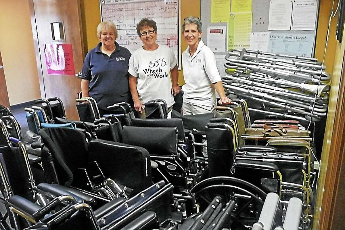 Last year, WIHS' Wheels for the World drive collected 709 wheelchairs, crutches, canes and walkers for people in need in third world countries.