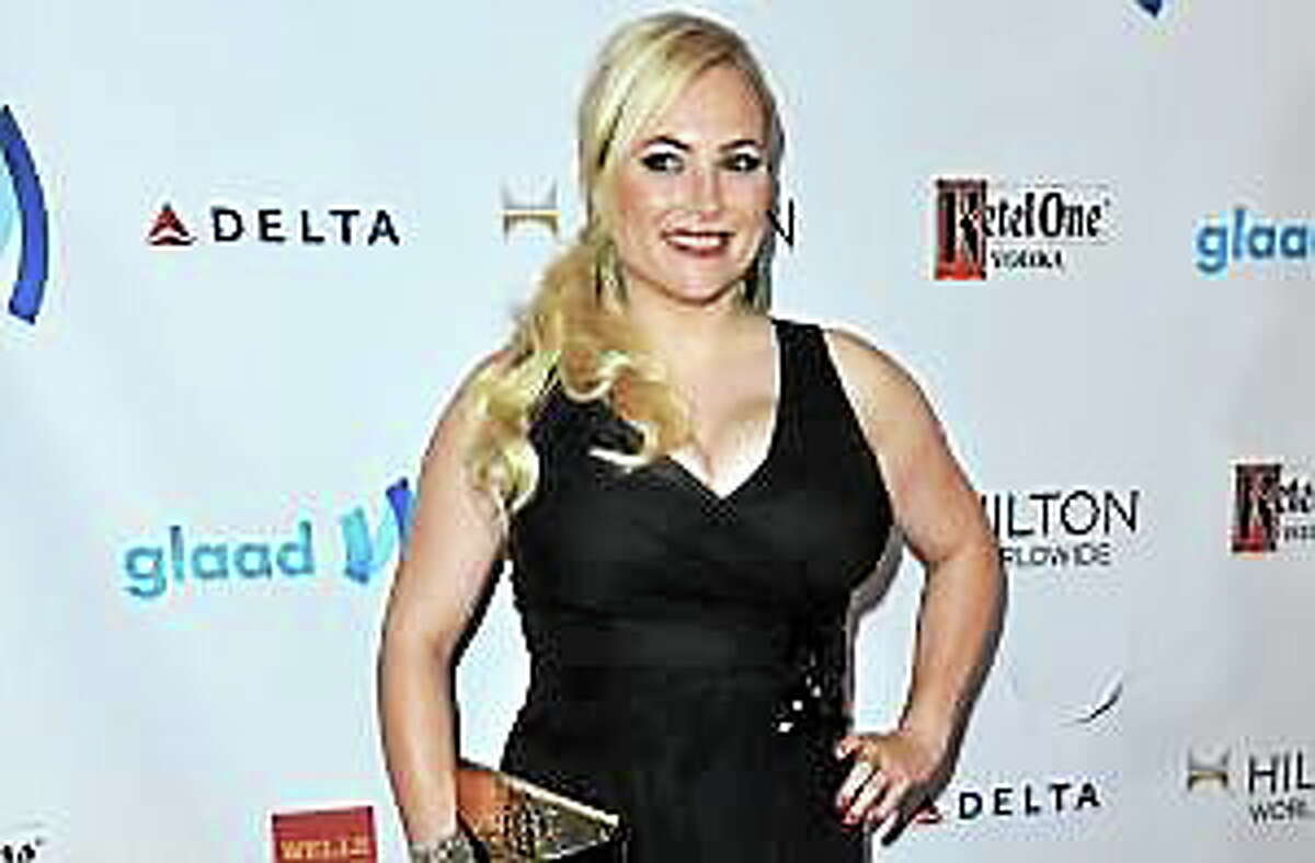 Meghan McCain arrives at the 25th Annual GLAAD Media Awards on Saturday, April 12, 2014.