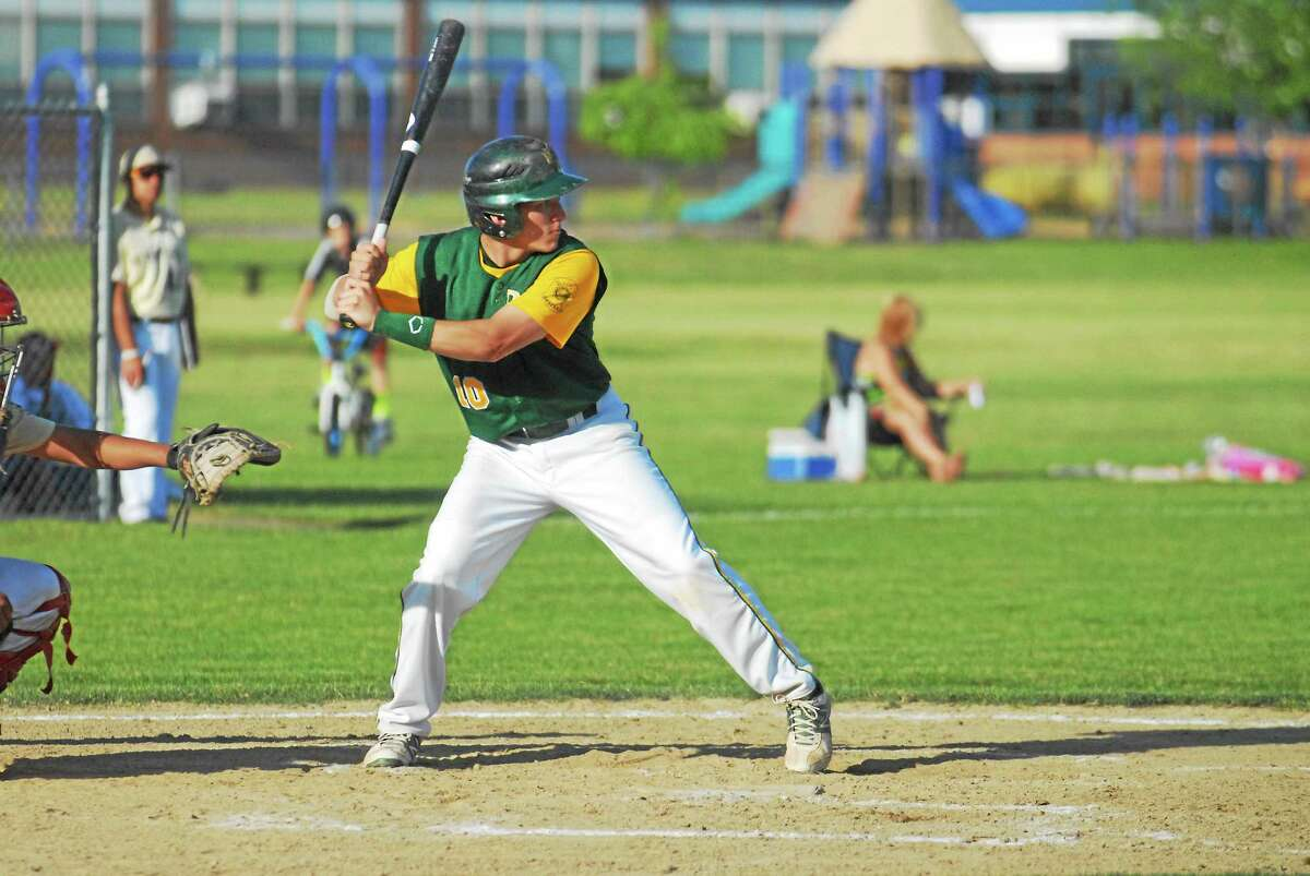 RCP shortstop Christian Budzik has anchored the Post 105 infield this summer.