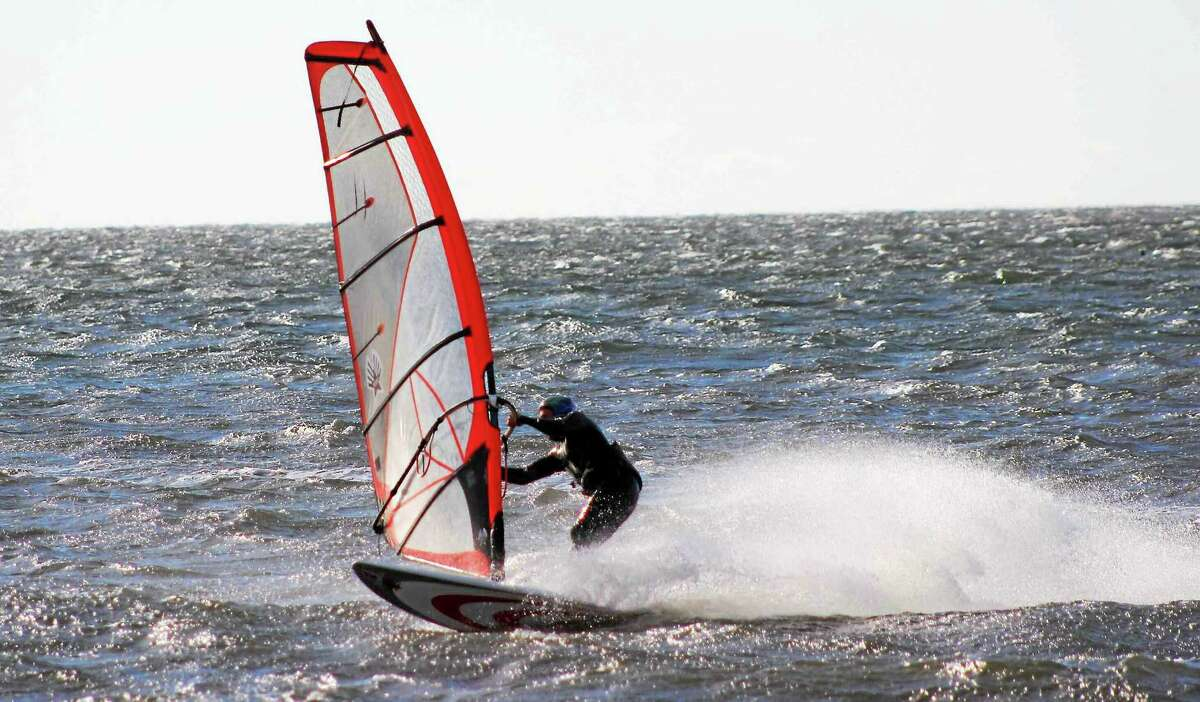 """""""Windsurfer"""" by Robert Gauggel."""