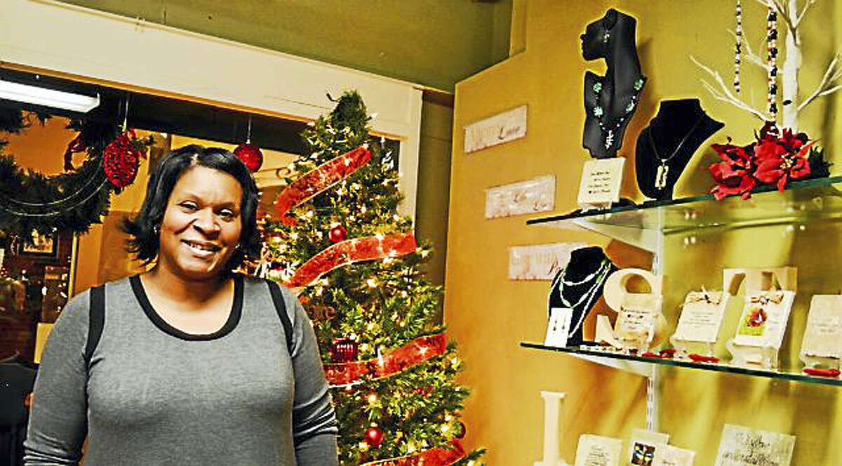 Dorene Robles, owner of Verse-A-Tile in Middletown, said her New Year's resolution is to help others reach their full potential.