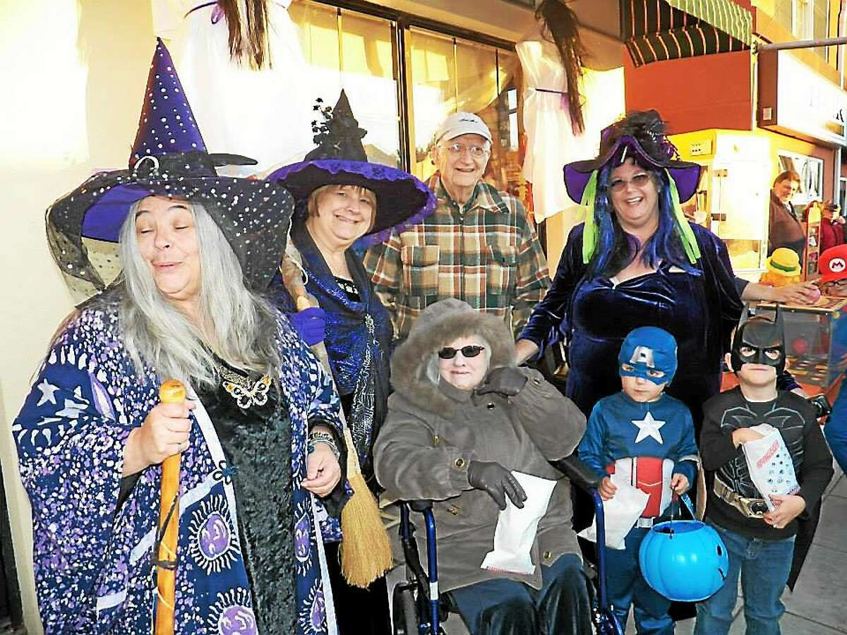 Families from Middletown and Portland joined Cromwell residents last week for the annual Halloween on Main, which attracted 6,000 people.