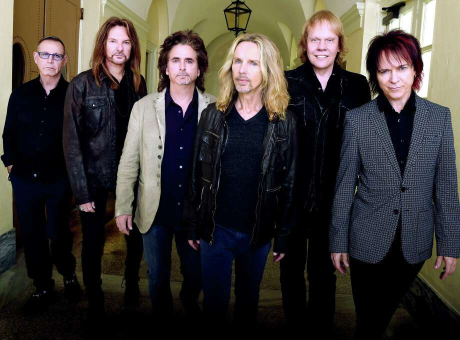 Styx has teamed up with hearing-aid manufacturer Oticon to stream the first live rock concert directly to hearing-aid wearers. The band's Aug. 22 concert will be live-streamed to Opn hearing aid wearers. Photo: Rick Diamond, Staff / 2014 Getty Images