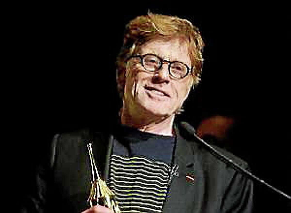 This Feb. 7, 2014, file photo shows Robert Redford at the 2014 Santa Barbara International Film Festival's American Riviera Award ceremony in Santa Barbara, Calif.