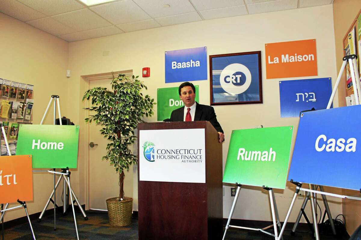 Contributed photo West Hartford resident Norbert J. Deslauriers, Interim Executive Vice President of CHFA, recently announced Connecticut Housing Finance Authorityís program to help prevent foreclosures.