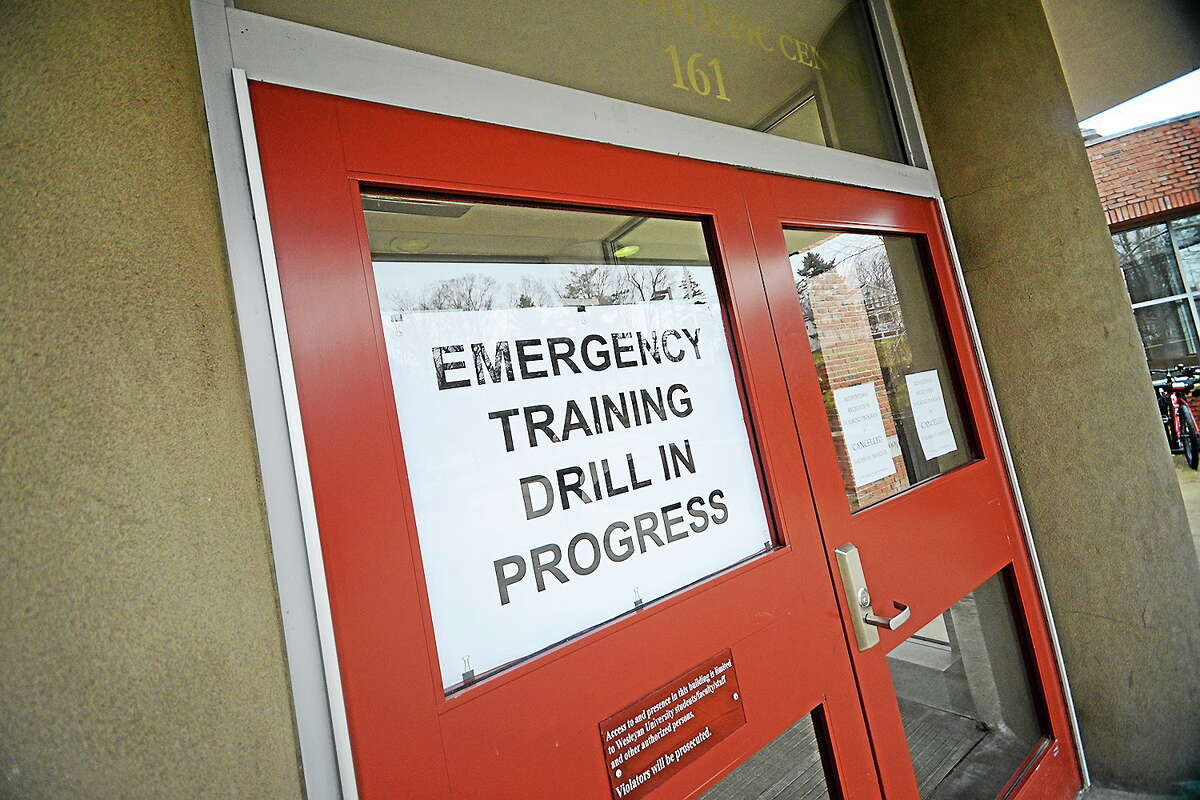 On March 20, the C-CERT team, made up of Wesleyan faculty and staff, participated in a a day-long training program to prepare for a public health emergency.