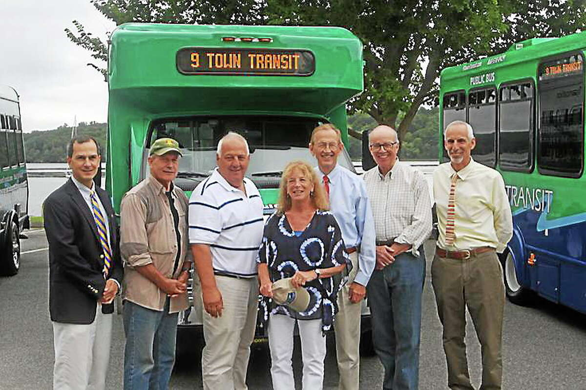 Submitted photo The 9 Town Transit system that runs from Madison to Middletown was named the 2011 CTAA Rural System of the Year.