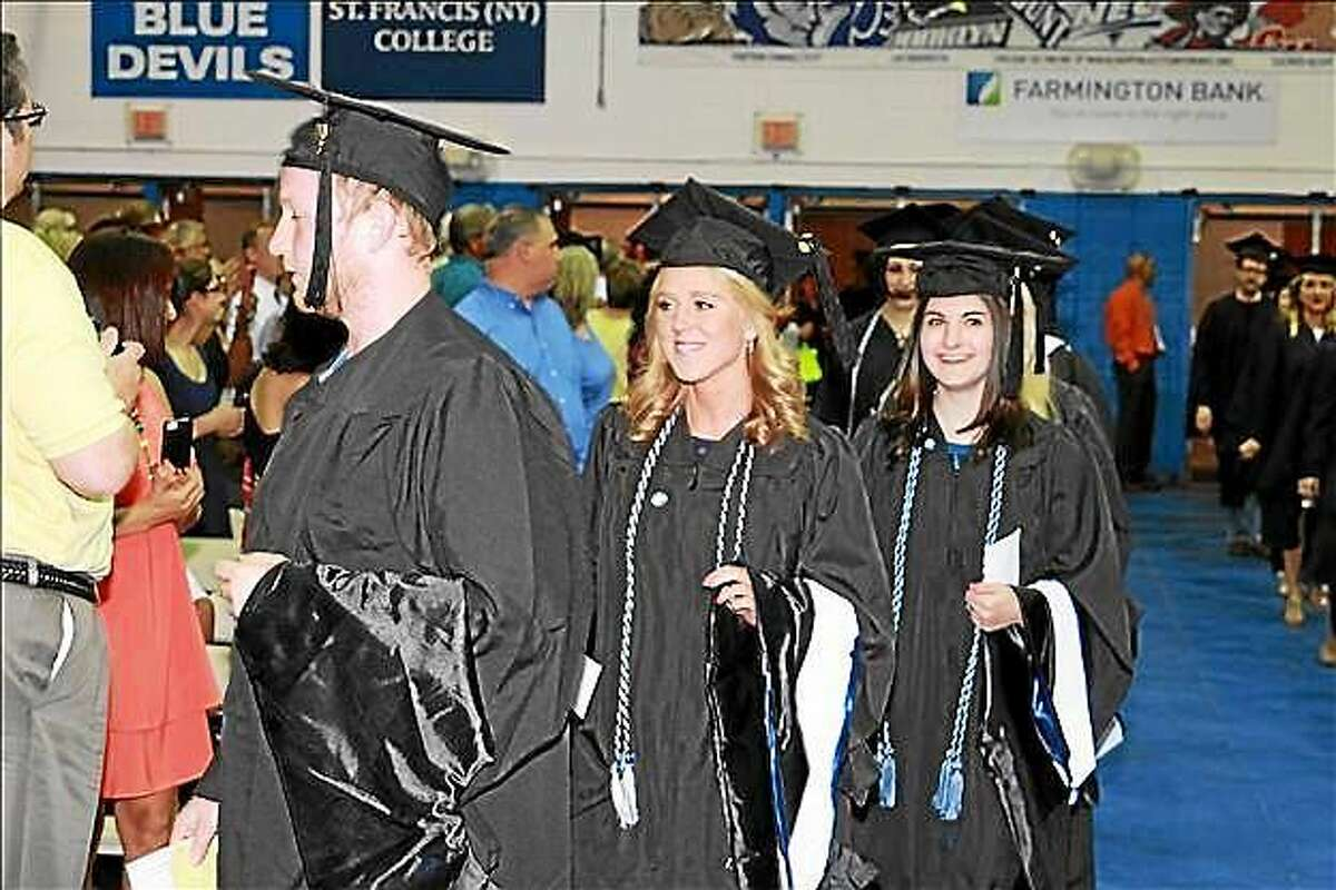 Central Connecticut State University's 2015 graduation was held in May in New Britain.