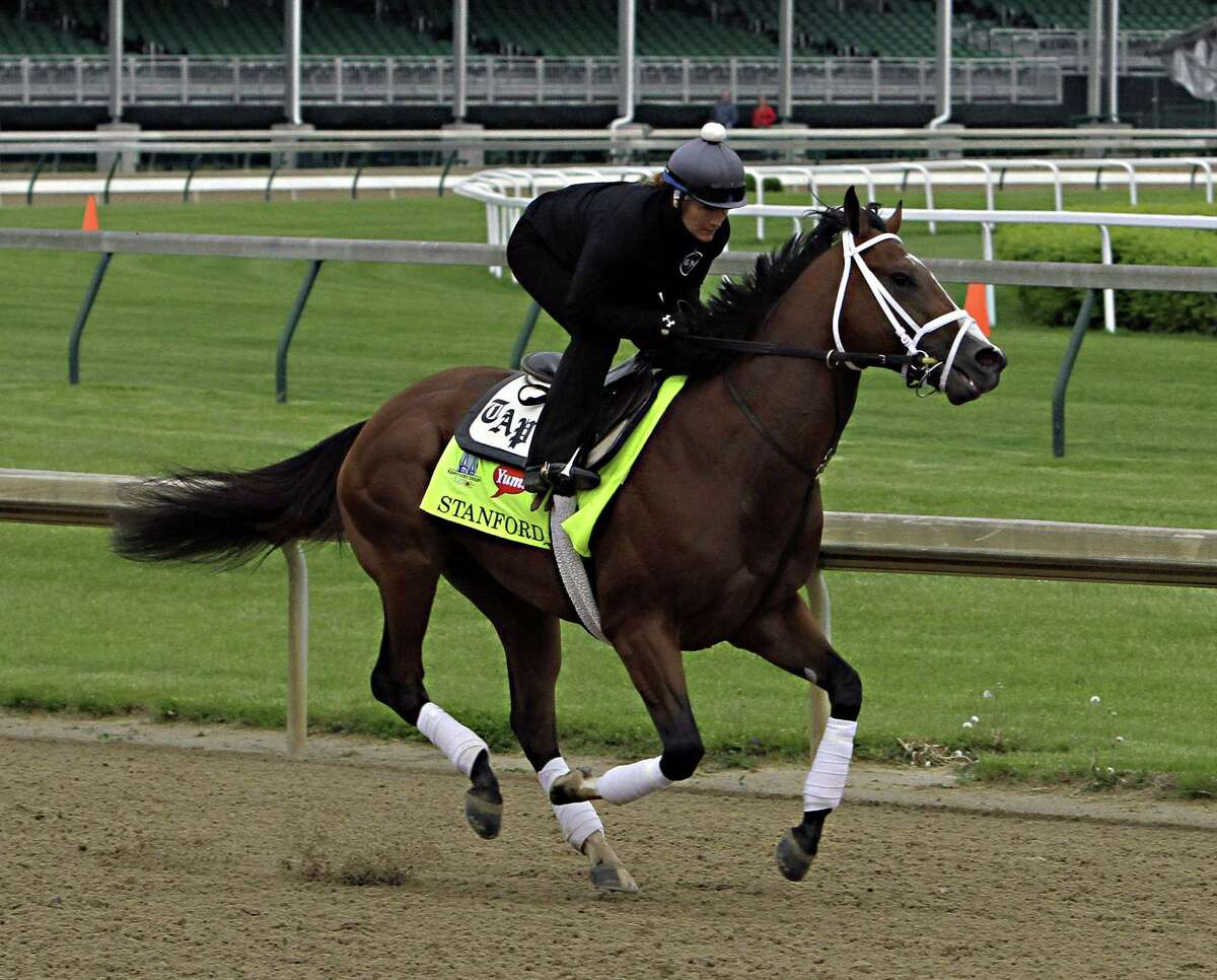 Stanford has been scratched from the Kentucky Derby.