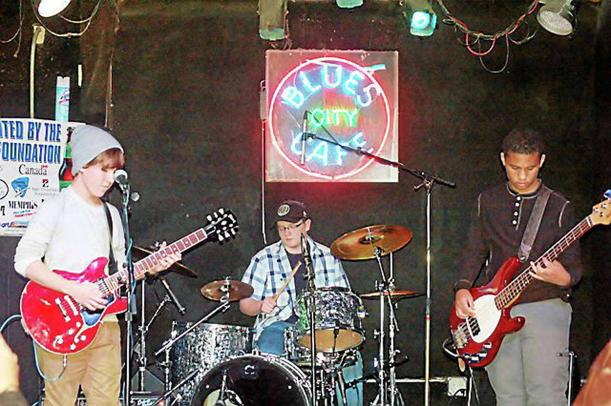 Photo by Dom Forcella Jake Kulak & the Lowdown open the Blues Blizzard this weekend in West Hartford.